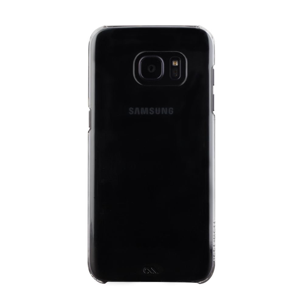 CaseMate Barely There - поликарбонатов кейс за Samsung Galaxy S7 (прозрачен)