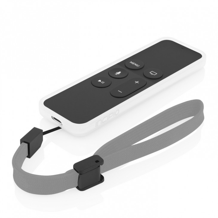 Incipio NGP matte case for Apple TV Siri Remote (white)
