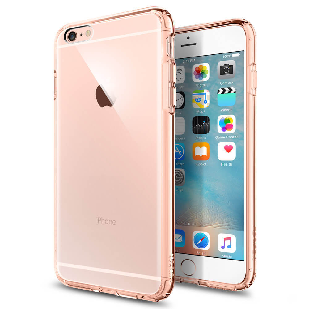 spigen ultra hybrid case for iphone 6 plus iphone 6s plus clear rose pink price. Black Bedroom Furniture Sets. Home Design Ideas
