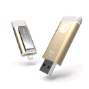Adam Elements iKlips Lightning 64GB - външна памет за iPhone, iPad, iPod с Lightning (64GB) (златист)