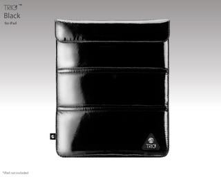 SwitchEasy TRIG - кожен калъф и поставка за iPad и таблети до 10 инча (черен)