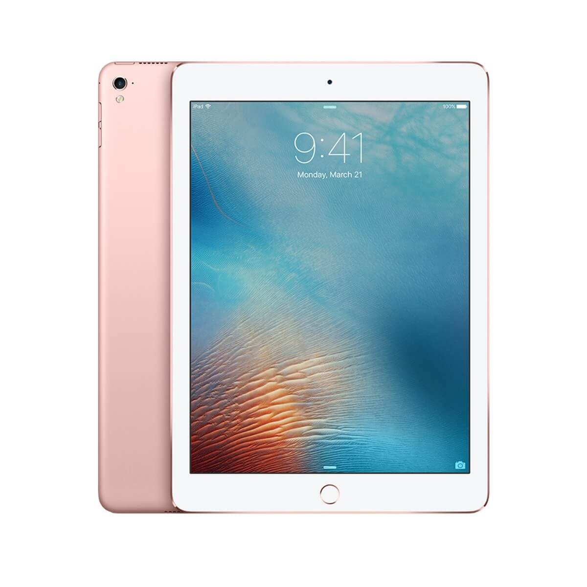 Apple iPad Pro Wi-Fi, 32GB, 9.7 инча, Touch ID (розово злато)