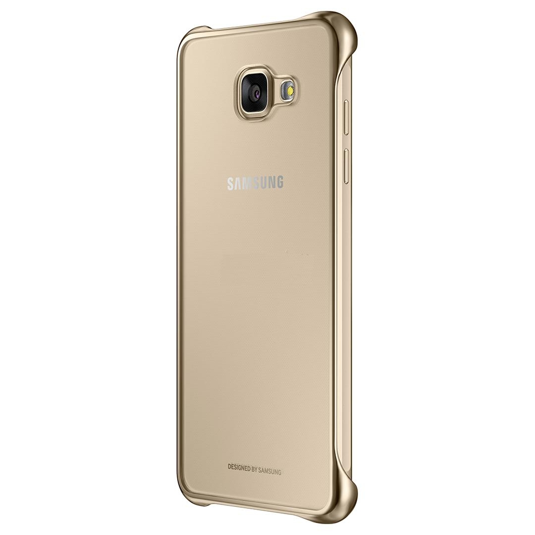 Samsung Protective Clear Cover EF-QA510CFEGWW for Samsung Galaxy A5 (2016) (clear-gold)