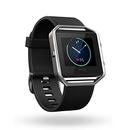 Fitbit Blaze Large Size - умен фитнес часовник с известия и следене на дневната и нощна активност на организма за iOS, Android и Windows Phone (черен)