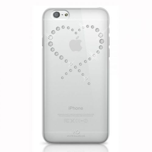 iphone 6 white and silver. white diamonds eternity case for iphone 6s, 6 with swarovski elements (clear-silver) iphone and silver