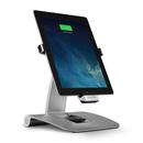 Mophie Dual Axis Power Docking Station - дизайнерска алуминиева поставка със захранване за iPad Pro 9.7 Air, Air 2, iPad 4