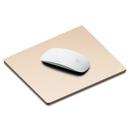 Elago Aluminum Mouse Pad - дизайнерски алуминиев пад за мишка (златист)
