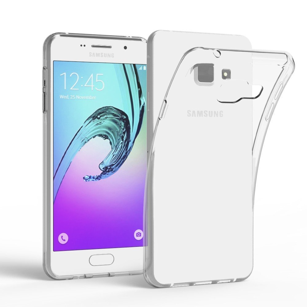 competitive price b7c6e d2a32 Devia Naked Case - тънък силиконов (TPU) калъф (0.5 mm) за Samsung Galaxy  A5 (2016) (прозрачен)