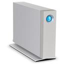 LaCie d2 Thunderbolt 2 & USB 3.0, 7200RPM - 4TB- външен хард диск с Thunderbolt 2 & USB 3.0 (сребрист)