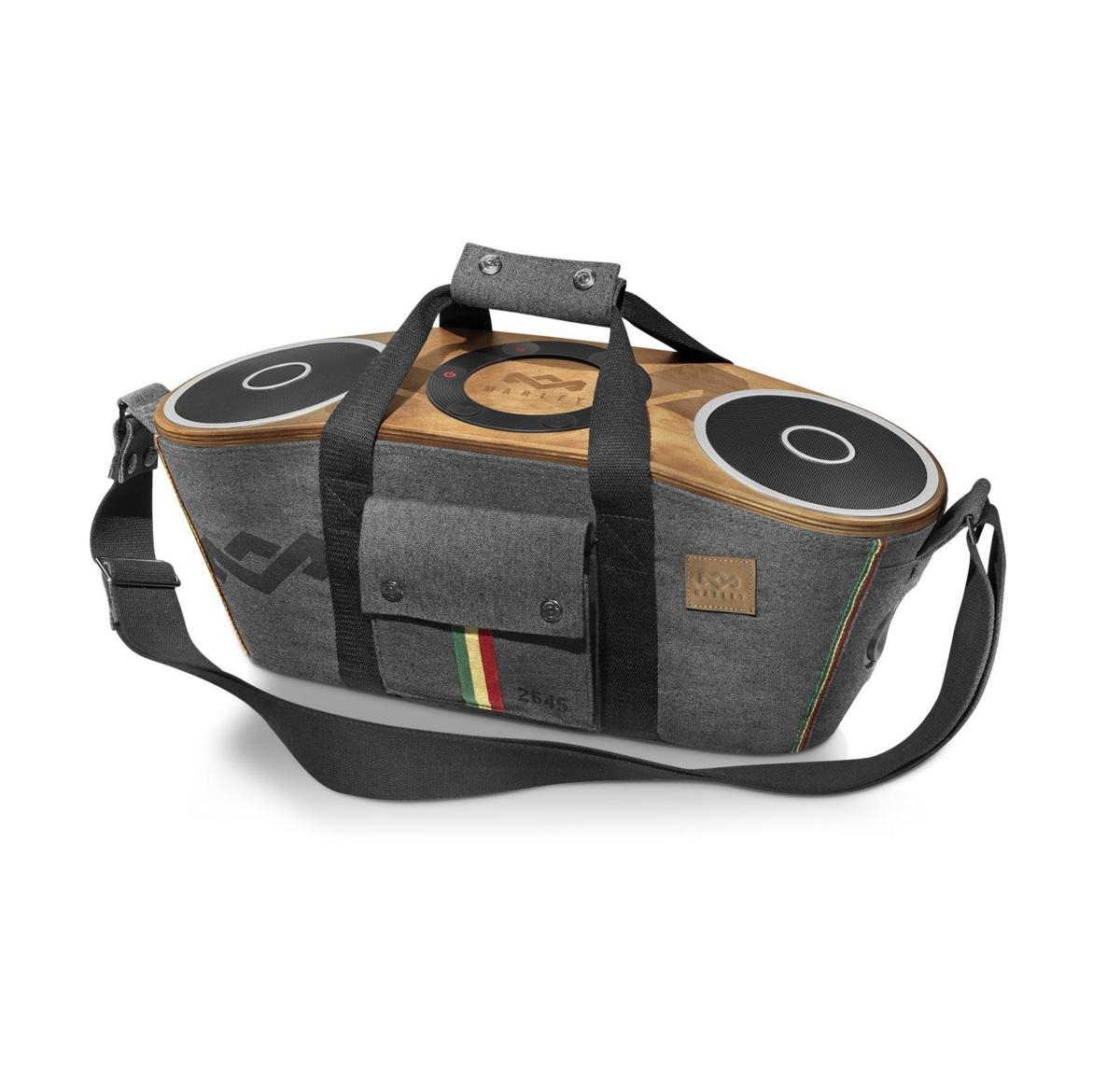 the house of marley bag of riddim portable bluetooth audio system