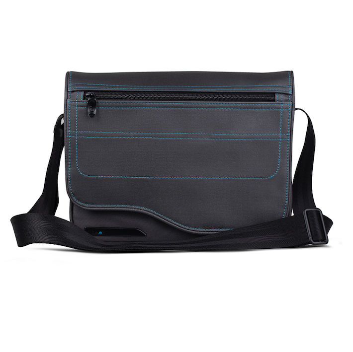 Be.ez LE reporter Metro Grey Lagoon Body Bag for iPad and tablets up to 10.2 in.