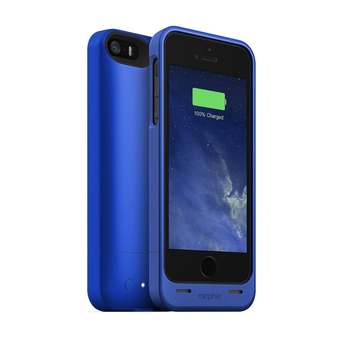 Blue Mophie Case Iphone