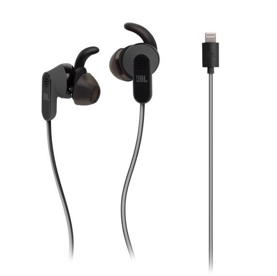 JBL Reflect Aware - слушалки с микрофон за iPhone, iPod, iPad и устройства с Lightning конектор (черен)