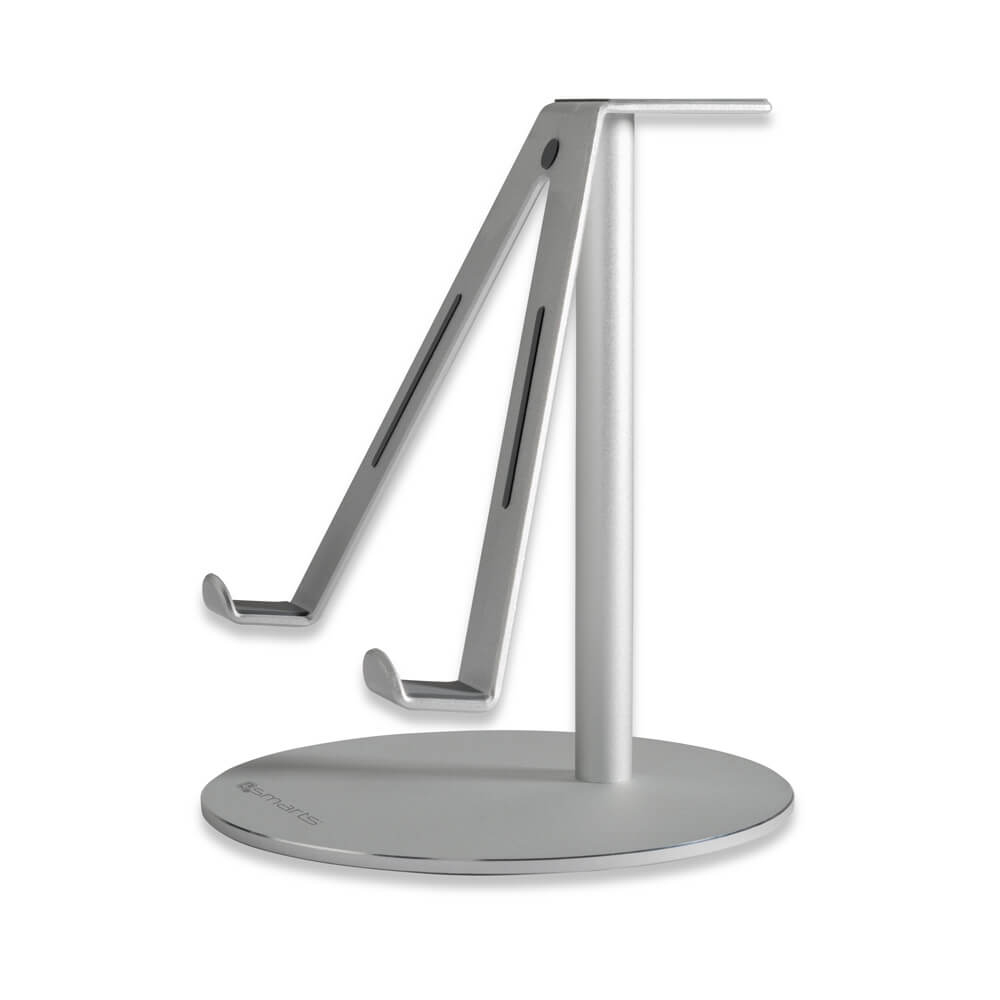 4smarts A-WING Stand - aluminium stand for iPad, tablets up to 12 in and Apple Watch