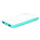 iLuv myPower 10000 - външна батерия 10 000mAh с два USB изхода за смартфони и таблети (бяла)
