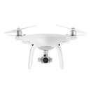 DJI Phantom 4 - дрон с контролер за управление от iPhone, iPod, iPad and Android устройства (бял)