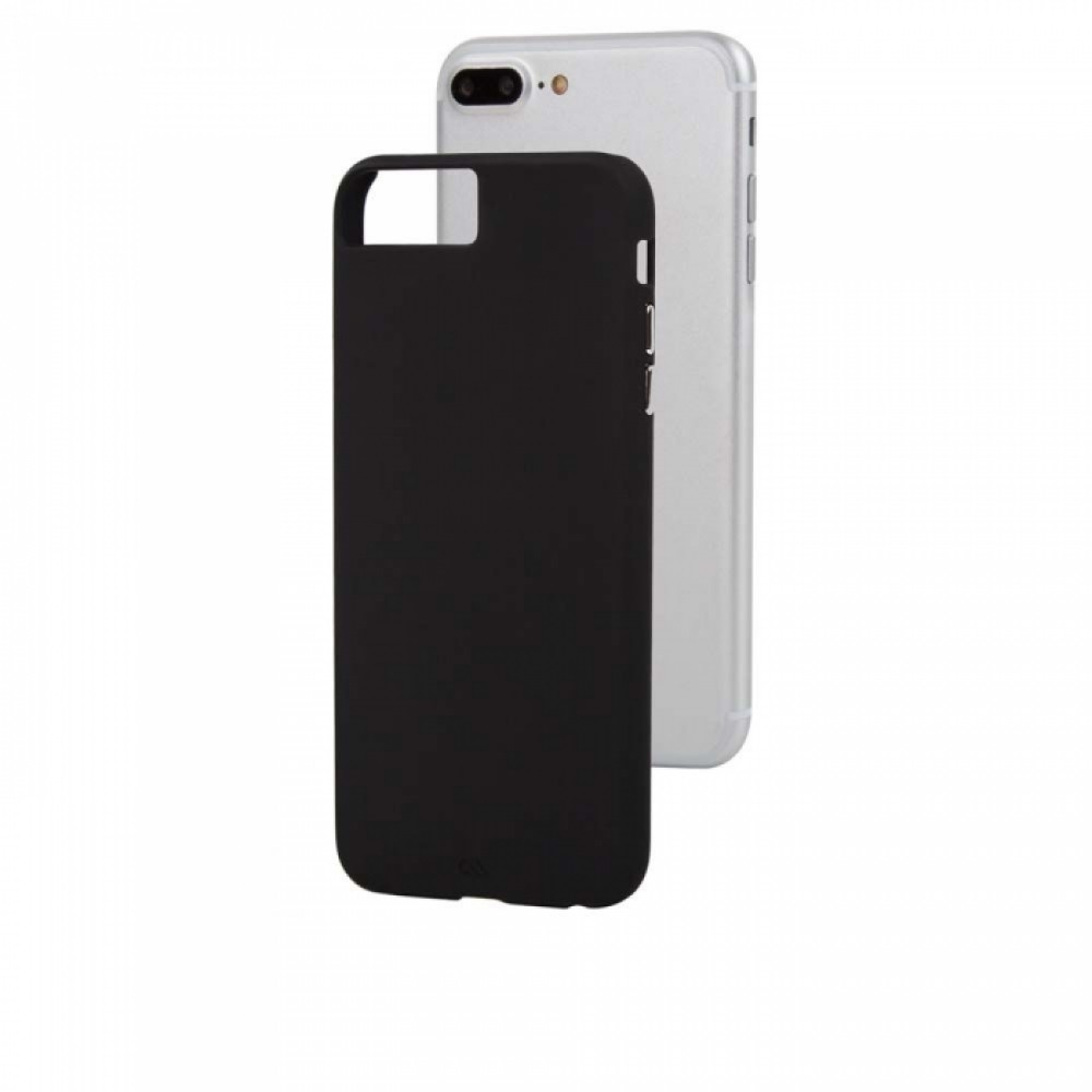 sale retailer 997e9 1a7c4 CaseMate Barely There - поликарбонатов кейс за iPhone 8 Plus, iPhone 7  Plus, iPhone 6S Plus, iPhone 6 Plus (черен)