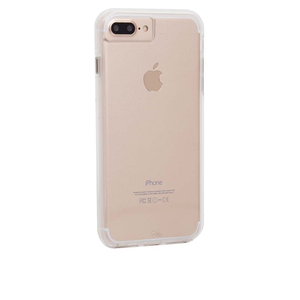CaseMate Naked Tough Case for iPhone 8 Plus, iPhone 7 Plus, iPhone 6S Plus, iPhone 6 Plus (clear)