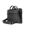 Booq Taipan Super Slim 15 - чанта с дръжки и презрамка за MacBook Pro 15, Pro Retina 15 и мобилни устройства до 15.4 инча (черна)