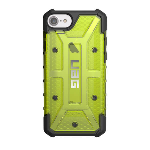Urban Armor Gear Plasma Case for iPhone 8, iPhone 7, iPhone 6S, iPhone 6 (citron)