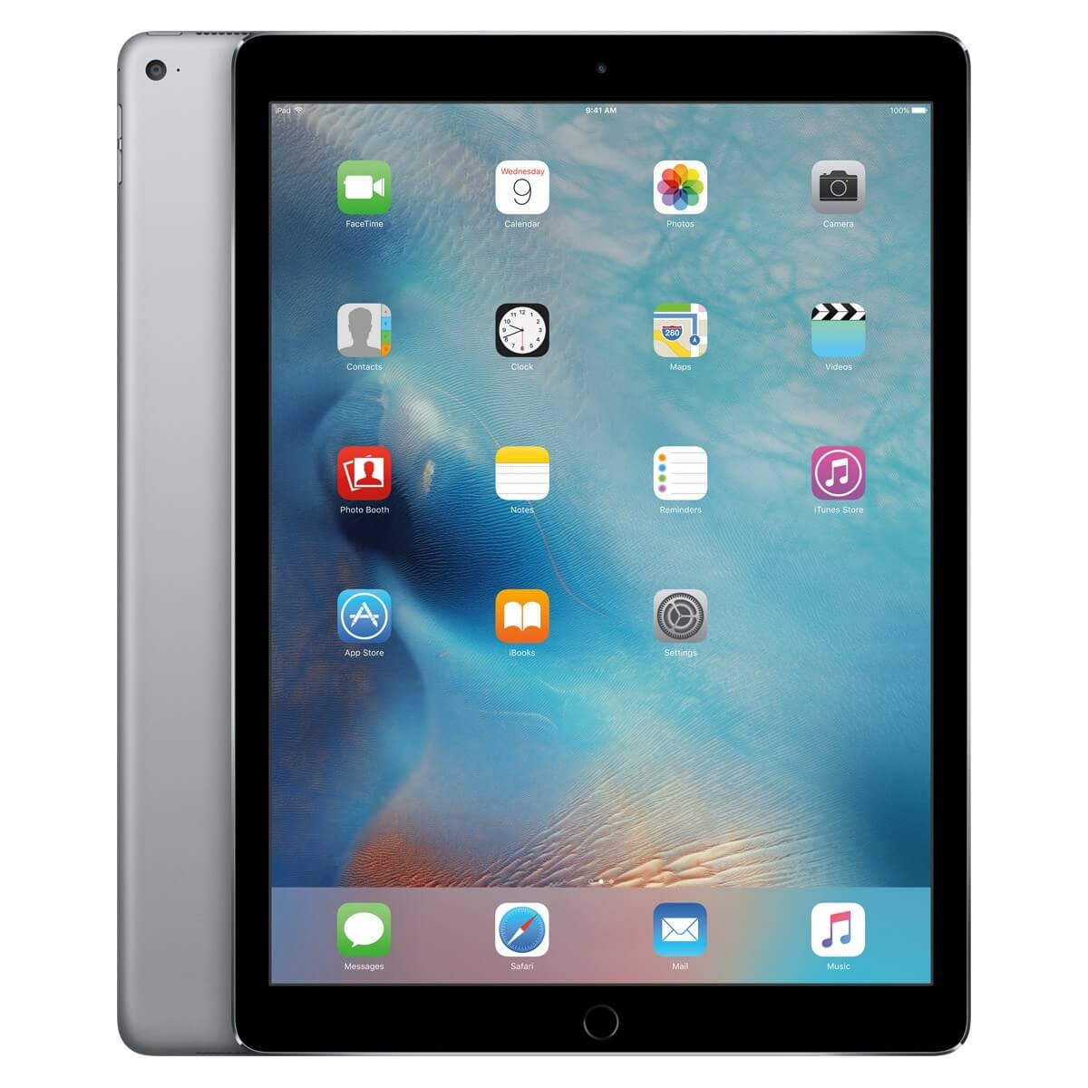 Apple iPad Pro Wi-Fi, 256GB, 12.9 инча, Touch ID (тъмносив)
