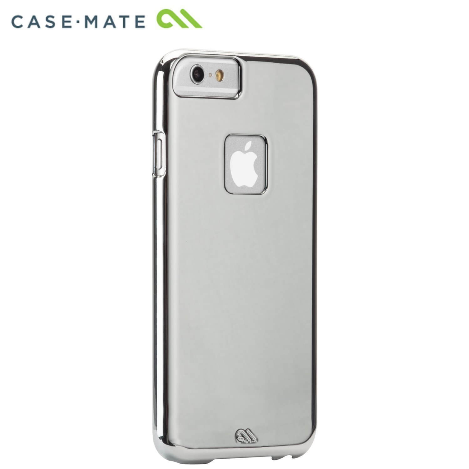 CaseMate Barely There - поликарбонатов кейс за iPhone 6, iPhone 6S, iPhone 8, iPhone 7 (сребрист)