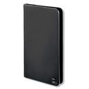 4smarts Newtown Wallet Universal Case - универсален кожен калъф с тип портфейл за смартфони до 5.2 инча (черен)