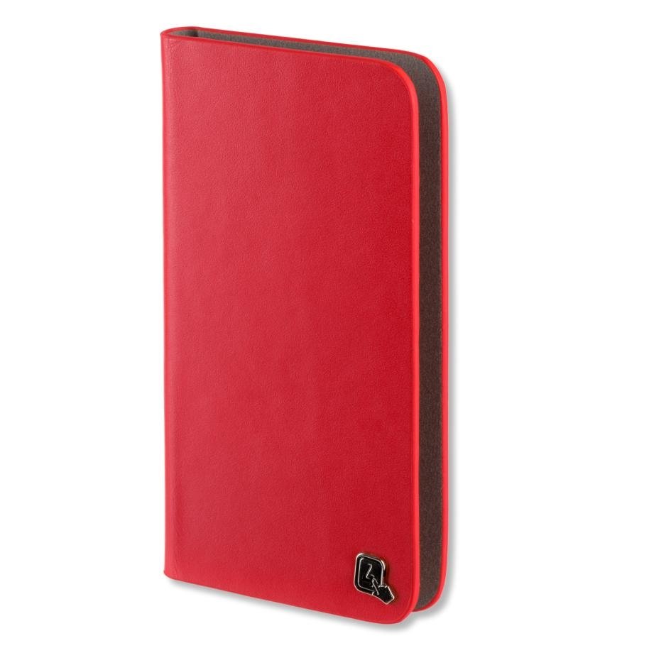 4smarts Ultimag Luxury Book Marbella Universal Case 5.2 in. (red)