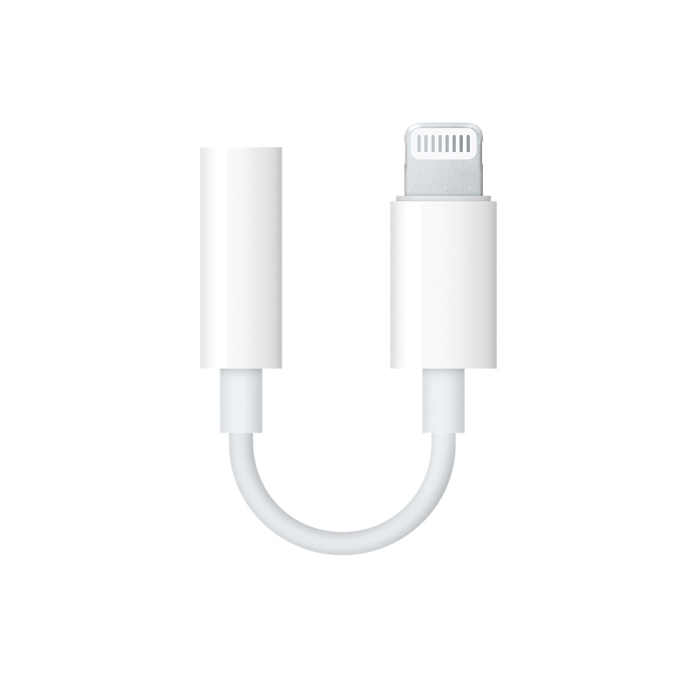 Apple Lightning to 3.5 mm Headphone Jack Adapter (retail)