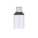 Devia Itec2 USB-C to USB 3.0 Adapter - USB адаптер за MacBook и устройства с USB-C порт