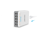 TeckNet U502 DuoPower 5-Port USB 12A Wall Charger