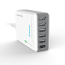 TeckNet U601 Qualcomm Quick Charger 6-Port USB Charger 14.4A