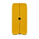 Beyzacases Lute - handmade, genuine leather case for iPhone 8, iPhone 7, iPhone 6, iPhone 6S (yellow)