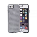 CaseMate Naked Tough Translucent Case - кейс с висока защита за iPhone 7, iPhone 6S, iPhone 6 (сив)