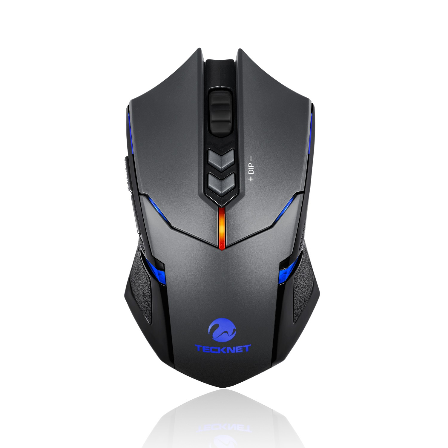 TeckNet Z4 VOLANT Wireless Gaming Mouse 2000 DPI - безжична гейминг мишка (за Mac и PC)