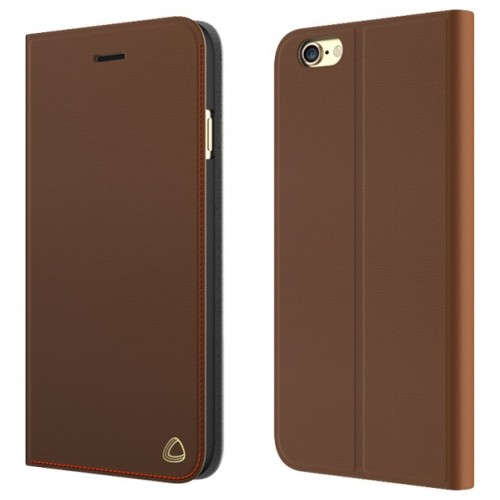 OCCA Jacket Collection for iPhone 8 Plus, iPhone 7 Plus Genuine Leather (Brown)