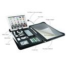 PowerBag Collection 892 - текстилен органайзер с джобове, ластици и външна батерия (4000mAh)
