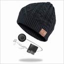 4smarts Basic Braid Beanie Bluetooth Headset - шапка с вградени безжични слушалки и мобилни устройства (черен)