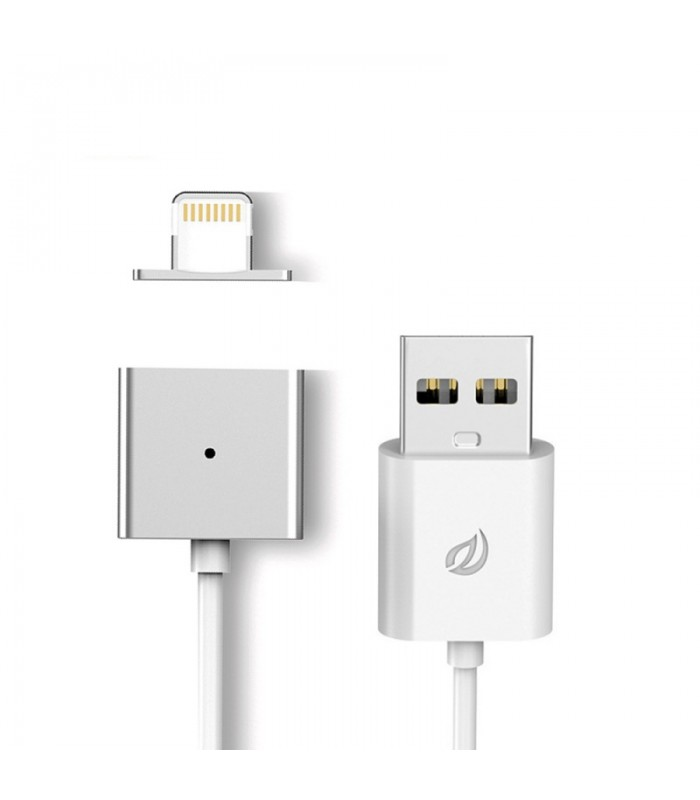 WSKEN Magnetic X-cable Cable for Apple Lightning devices (silver)