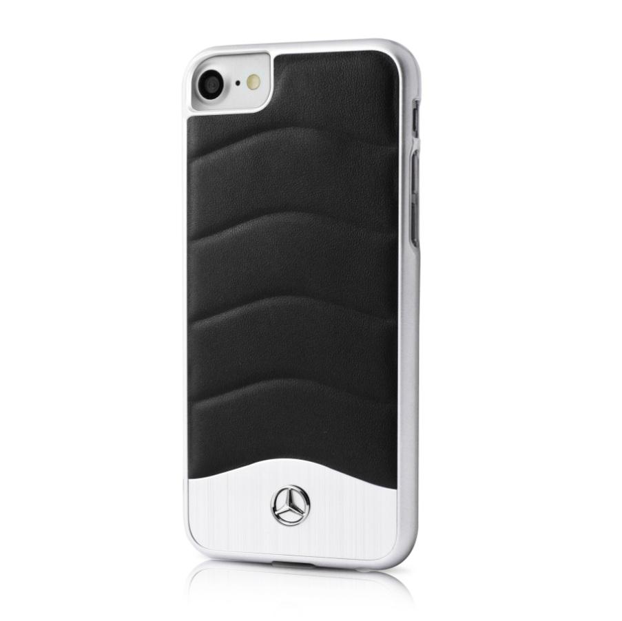 hot sale online 42189 59d52 Mercedes-Benz Genuine Leather Hard Case - дизайнерски кожен кейс за iPhone  8 Plus, iPhone 7 Plus, iPhone 6S/6 Plus ...