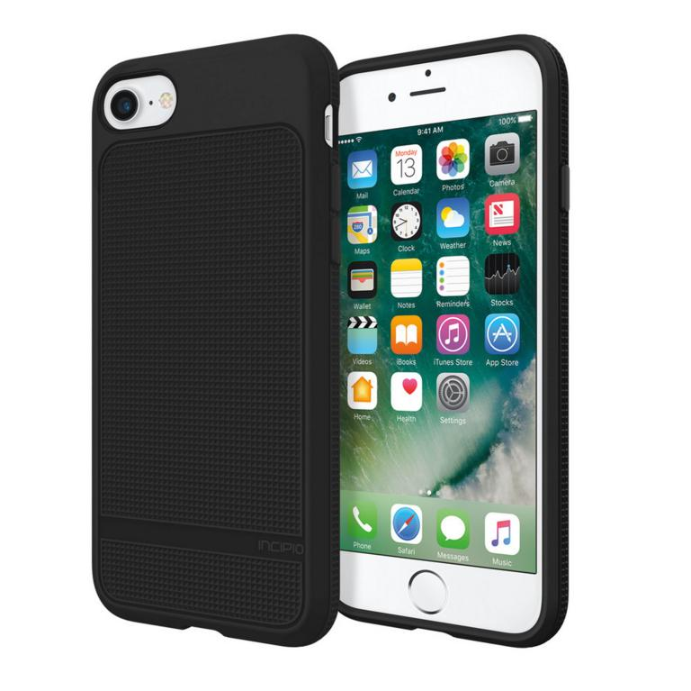 Incipio NGP Advanced Case - удароустойчив силиконов (TPU) калъф за iPhone 8, iPhone 7 (черен)