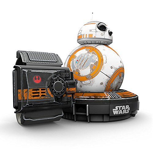 Orbotix Sphero BB-8 Droid - управляем дроид BB-8 от Star Wars The Force Awakens + гривна Force Band за управление на дроида