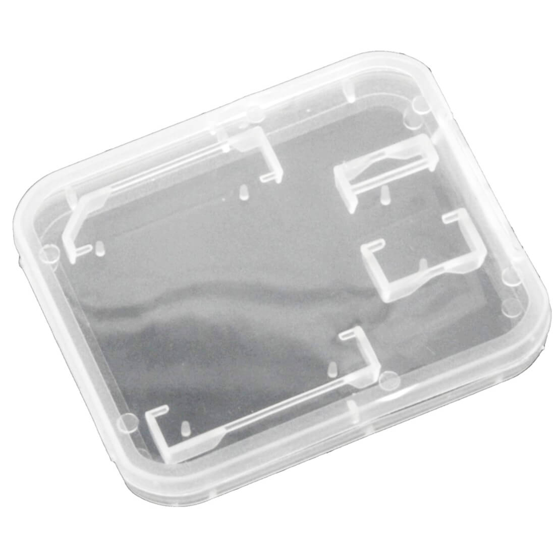 Storage Box clear for SD & microSD Memory Cards - кутийка за съхранение на MicroSD и SD карти