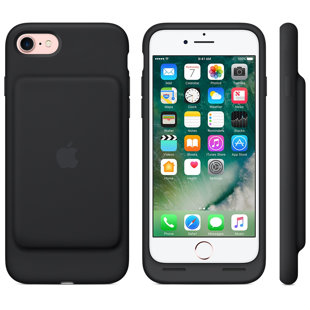 Apple Smart Battery Case For Iphone 7 Black Price Dice Bg