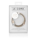 Le Cord Premium Lightning to USB Cable 120 cm - кабел за утройства с Lightning порт (златист)