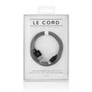 Le Cord Premium Lightning to USB Cable 120 cm (black-white)