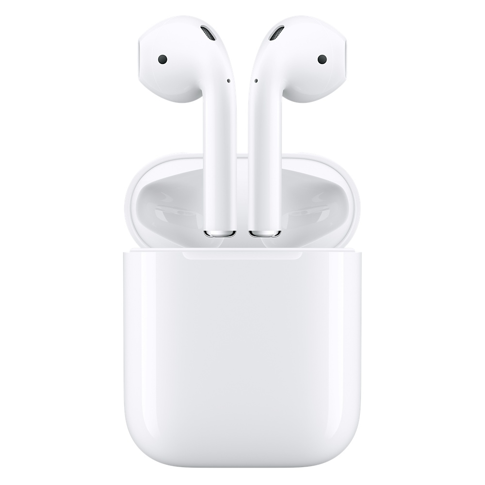 Apple AirPods with Charging Case - оригинални безжични слушалки за iPhone, iPod и iPad