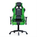 El33t Elite Gaming Chair - ергономичен гейминг стол (черен-зелен)