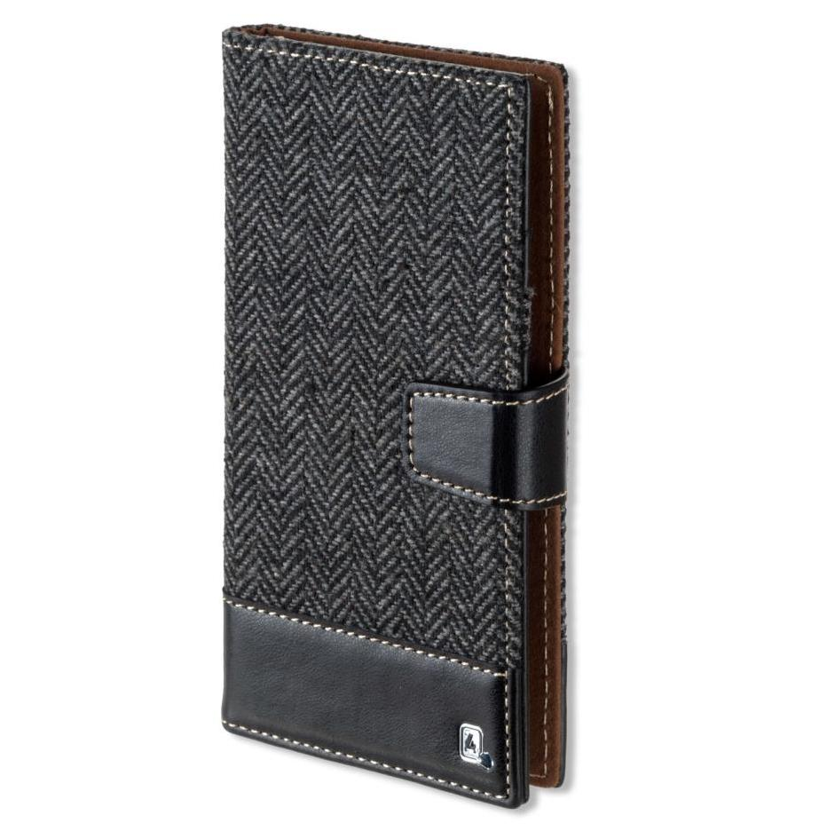 4smarts Ultimag Wallet Milano Case for smartphones up to 5.8 in. (black)