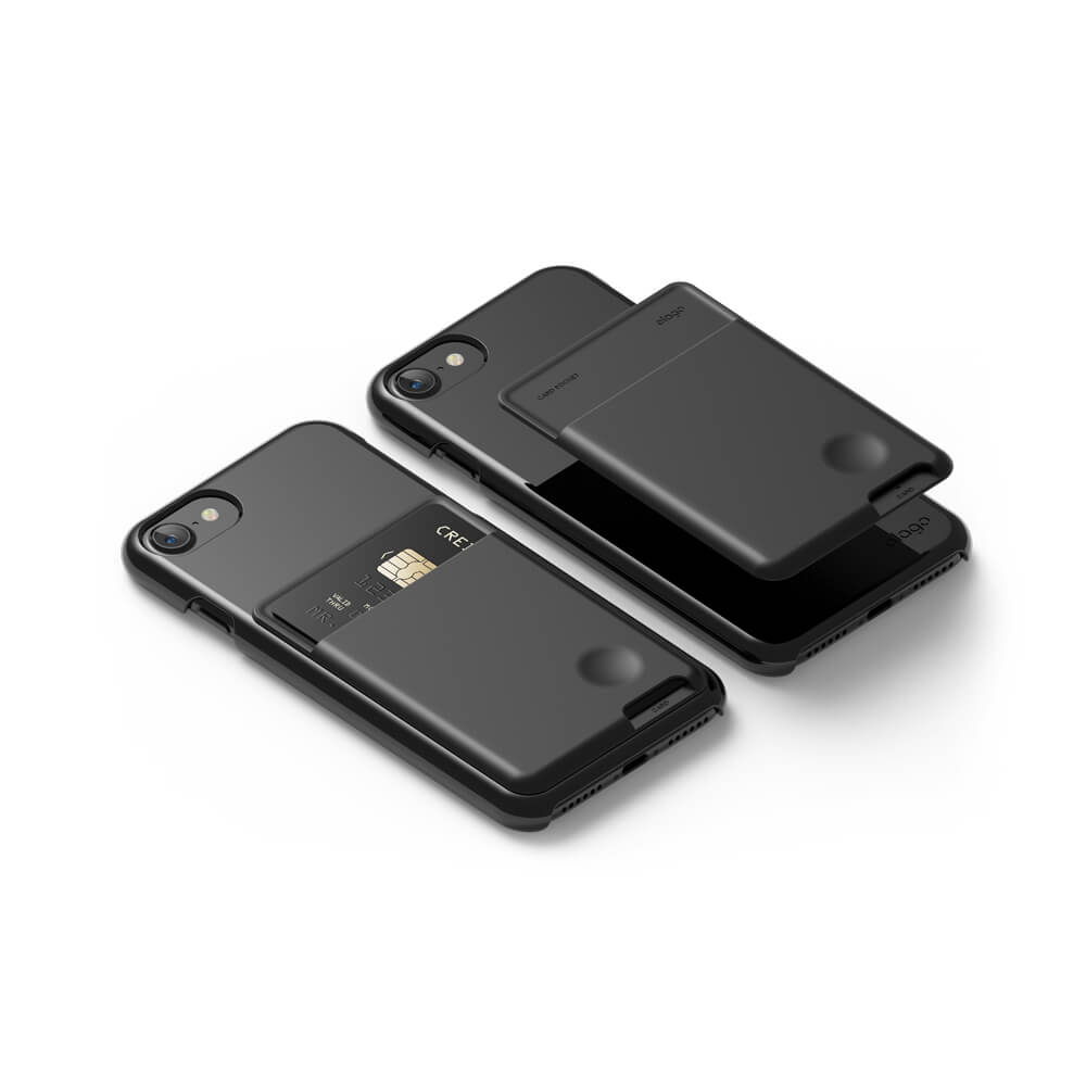 Elago Card Pocket for mobile devices (black)
